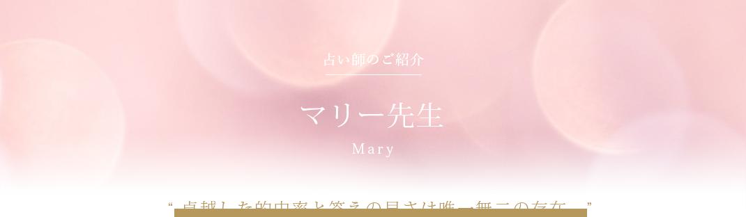 マリー先生